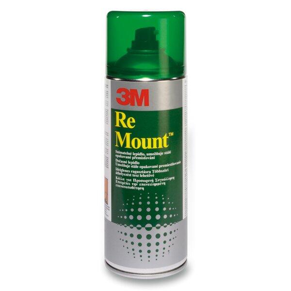 Lepidlo ve spreji 3M Re-Mount - snímatelné 400 ml