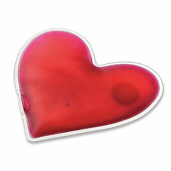 Obrázek produktu LOVELY - hřejivý polštářek, transp., frosty růžová