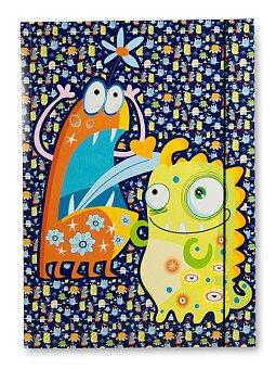 Obrázek produktu Školní desky A3 - motiv Příšerky