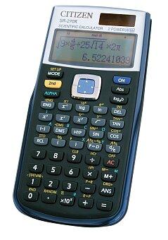 Obrázek produktu Vědecký kalkulátor Citizen SR-270X