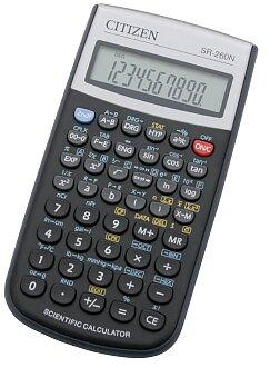 Obrázek produktu Vědecký kalkulátor Citizen SR-260N