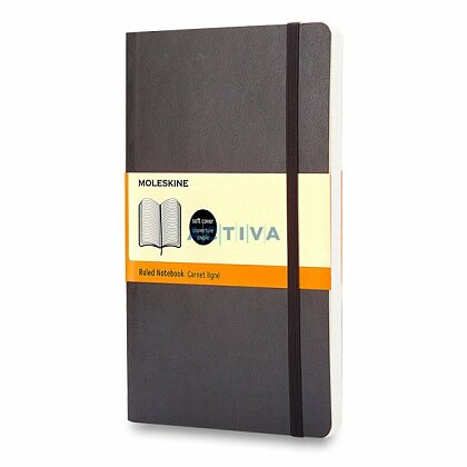 Obrázek produktu Moleskine - zápisník v měkkých deskách - vel. S, 9 × 14 cm, linkovaný, černý