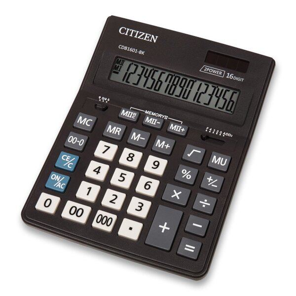 Stolní kalkulátor Citizen CDB-1601
