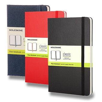 Obrázek produktu Zápisník Moleskine - tvrdé desky - S, čistý, výběr barev