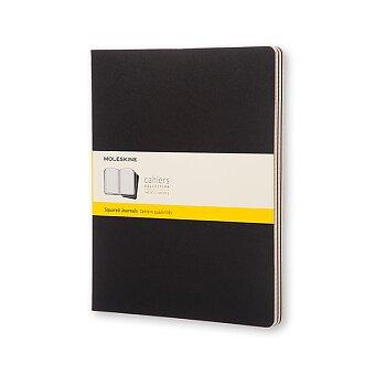 Obrázek produktu Notes Moleskine Cahier - XXL, čtverečkované, 3ks, výběr barev