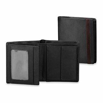 Obrázek produktu SANTINI GRIMALDO - kožená pánská peněženka, s ochranou kreditních karet, černá