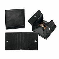 MOREY - kožená pánská peněženka, černá