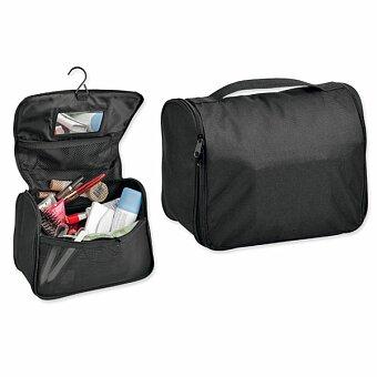 Obrázek produktu COSMETA - polyesterová kosmetická taška, 600D, černá