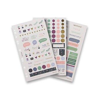 Obrázek produktu Samolepky Garden - náplň osobních/A5 diářů Filofax