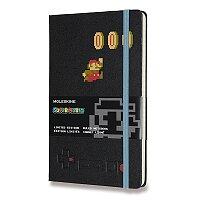 Zápisník Moleskine Super Mario - tvrdé desky