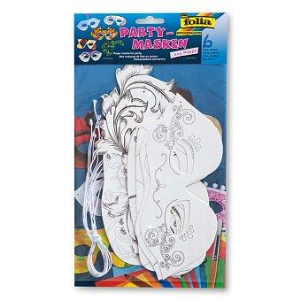 Obrázek produktu Masky Folia - kovbojové, indiáni a piráti pro kluky i holky