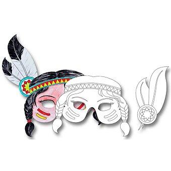 Masky Folia - kovbojové, indiáni a piráti pro kluky i holky