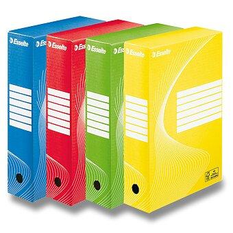 Obrázek produktu Archivační krabice Esselte - hřbet 80 mm, výběr barev