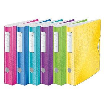 Obrázek produktu Pákový pořadač Leitz Wow - plast, A4, 50 mm, výběr barev