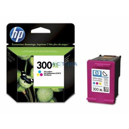 Obrázek produktu HP - cartridge CC644EE, color č. 300 XL (barevná) pro inkoustové tiskárny