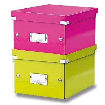 Obrázek produktu Archivační krabice Leitz Click & Store - do A5, 216 x 160 x 282 mm, výběr barev