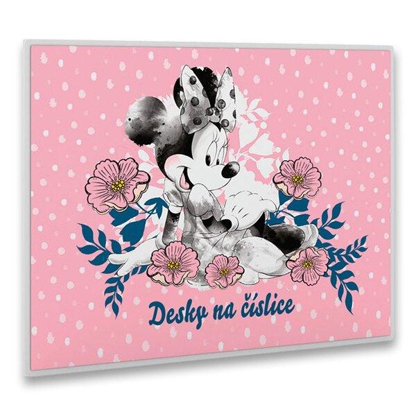Desky na číslice Minnie Mouse