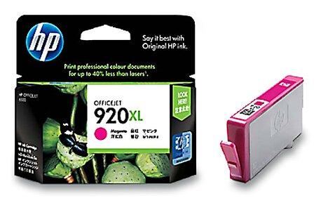 Obrázek produktu Cartridge HP CD973AE č. 920 XL pro inkoustové tiskárny - magenta (červená)