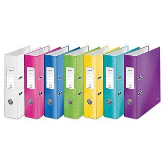 Obrázek produktu Pákový pořadač Leitz Wow - lamino, A4, 80 mm, výběr barev