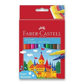 Obrázek produktu Dětské fixy Faber-Castell Castle - 12 barev