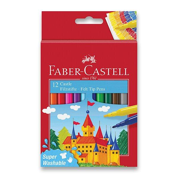 Dětské fixy Faber-Castell Castle 12 barev