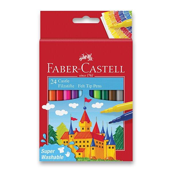 Dětské fixy Faber-Castell Castle 24 barev