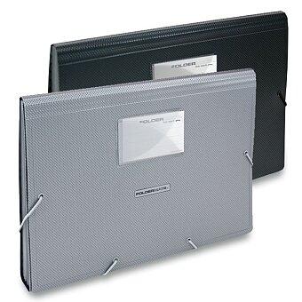 Obrázek produktu Aktovka FolderMate Style Plus - A4, 13 kapes, výběr barev