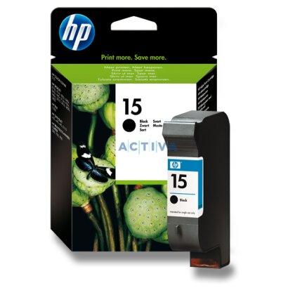 Obrázek produktu HP - cartridge C6615D, black č. 15 (černá) pro inkoustové tiskárny