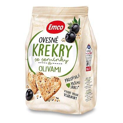 Obrázek produktu Emco - ovesné krekry - se semínky a olivami