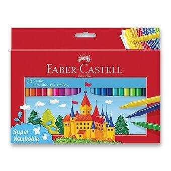 Obrázek produktu Dětské fixy Faber-Castell Castle - 50 barev