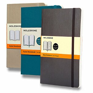 Zápisník Moleskine - měkké desky