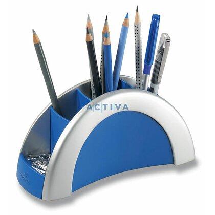 Obrázek produktu Durable Pen Holder - stojánek na psací potřeby - stříbrná/modrá