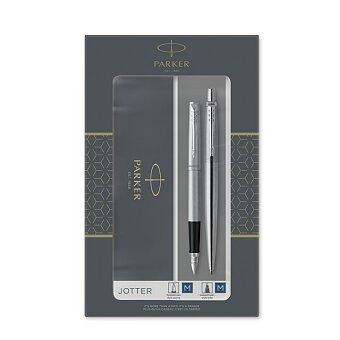 Obrázek produktu Parker Jotter Stainless Steel CT - sada kuličková tužka a plnicí pero
