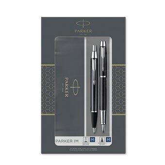 Obrázek produktu Parker IM Black CT - sada plnicí pero a kuličková tužka
