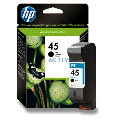 Obrázek produktu HP - cartridge 51645A, black č. 45 (černá) pro inkoustové tiskárny