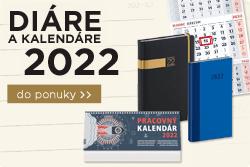 Diáre a kalendáre 2022