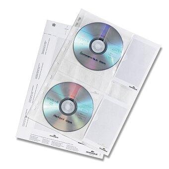 Obrázek produktu Archivační závěsné desky na CD/DVD Durable - pro 4 ks, 5 ks