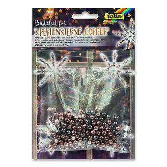 Sada Folia na výrobu hvězd z perliček