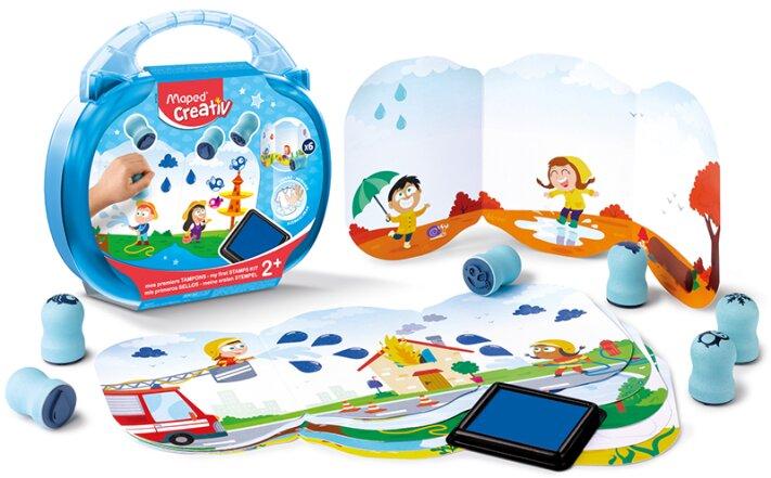 Kreativní sada Maped Creativ Early Age dětská razítka