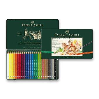 Obrázek produktu Akvarelové pastelky Faber-Castell Albrecht Dürer Magnus - plechová krabička, 24 barev