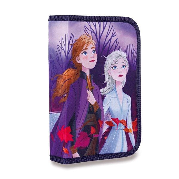 Penál Frozen II 1patrový, 2 chlopně, prázdný
