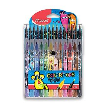 Obrázek produktu Dětské fixy a pastelky Maped Color'Peps Monster
