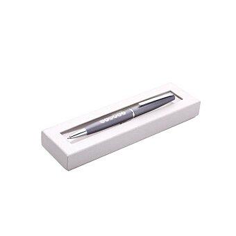 Obrázek produktu GINALI GREY PLUS - kuličková tužka kov, výběr barev