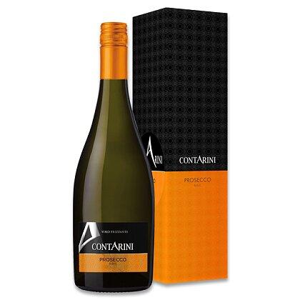 Obrázek produktu Contarini Prosecco Frizzante DOC - perlivé víno - dárkové balení 0,75 l