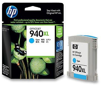 Obrázek produktu Cartridge HP C4907AE č. 940 XL pro inkoustové tiskárny - cyan (modrý)