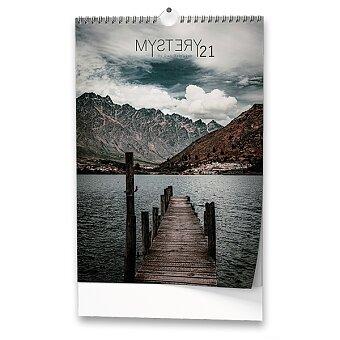 Obrázek produktu Nástěnný obrázkový kalendář Mystery 2021 - 14 lisů, 32 x 45 cm