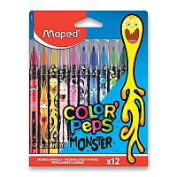 Dětské fixy Maped Color'Peps Monster