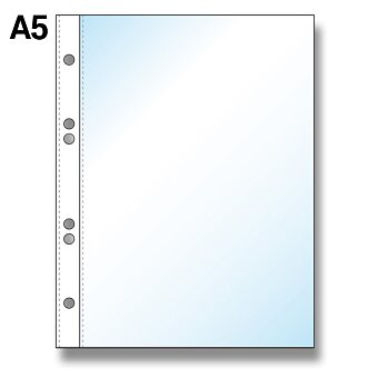 """Obrázek produktu Závěsný zakládací obal OA """"U"""" - A5, lesklý, 50 ks"""