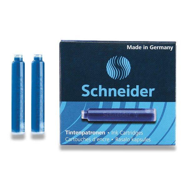Inkoustové bombičky Schneider, 6 ks černé