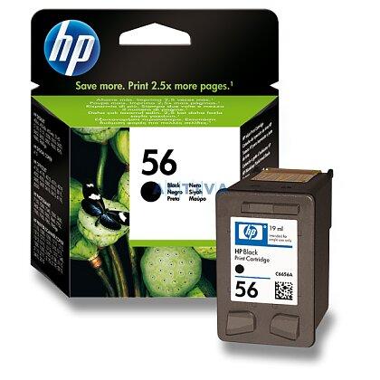 Obrázek produktu HP - cartridge C6656AE, black č. 56 (černá) pro inkoustové tiskárny